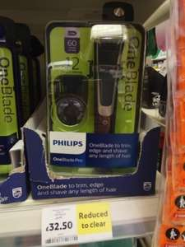Philips OneBlade Pro - £32.50 -  Tesco instore