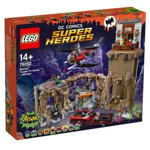LEGO DC Comics Super Heroes Batman Classic TV Series Batcave 76052 - £159.99 @ Smyths