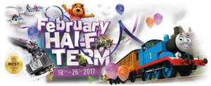 Half price Thomas land at Drayton Manor when pre booked for Feb half term.