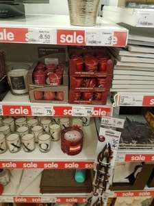 Home Inspirations Yankee Candle votives 70p and 50p Asda