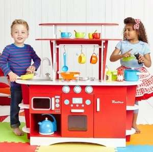 Wooden Retro Diner Kitchen (was £150) now £75 delivered @ ELC