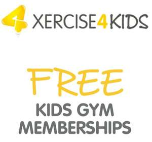 Free gym membership for kids @ xercise4less - Sessions are aimed at 3-5 years olds and their parent or guardian to promote physical activity and leading a healthier lifestyle