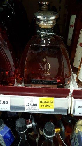 Tesco Finest XO Cognac 50% off £24 instore