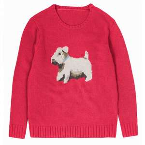 BILLIE CHUNKY INTARSIA JUMPER Was £75.00 Now £37.00 @ Cath Kidston (Free C&C or £3.95 Delivery)