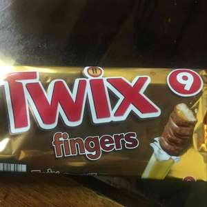 Twix 9 finger pack Tesco express 47p instore