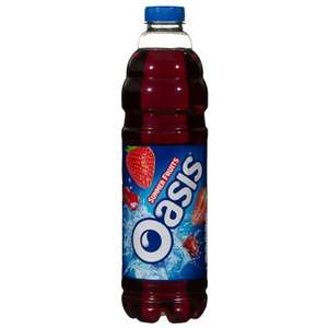 Oasis Summer Fruits juice drink 1.5l 69p in home bargains