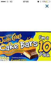 10 pack of Jaffa cake bars half price £1.25 @ Tesco