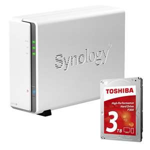 Synology DS115j DiskStation 1-Bay 3TB £162.68 delivered @ Broadbandbuyer