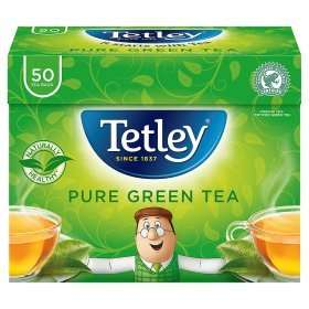 Tetley Pure Green 50 Teabags £1 @ Asda were £1.76