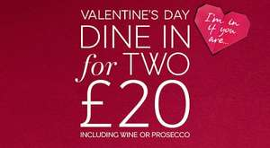 M&S Valentines Dine In for £20