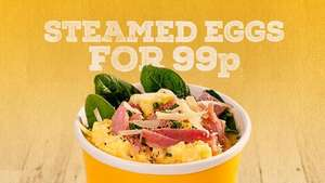 chop'd Steamed eggs for 99p