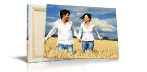 Two 40x30cm Canvas prints for £20 +£7.99 P&P (£27.99) @ Picanova
