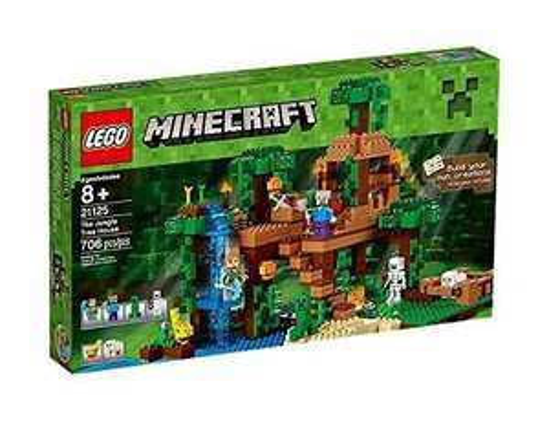 LEGO Minecraft 21125 The Jungle Tree House Playset - £49.39 @ Amazon