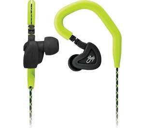 GOJI GSPOOK16 Headphones - Black & Green £9.99 @ Currys