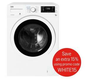 Beko WDJ7523023W 7/5KG  Washer Dryer £297.49 Argos