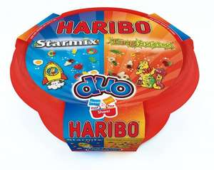Haribo Starmix and Tangfastics Duo Tub 800 g (Pack of 4) £6.00  Amazon Add On Item