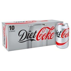 10 Cans of Diet Coke, Fridge Pack £1.99 instore @ Heron, Hull