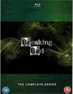Breaking Bad: The Complete Series  [Blu-ray] [Region Free] £19.98 prime / £22.97 non prime USED @ ReNew Entertainment Fulfilled by Amazon