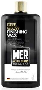 Halfords are selling off car cleaning products, Mer polish 500ml for £3