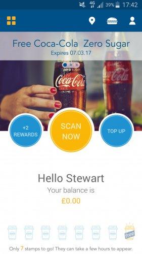 Free Coke Zero with Greggs App