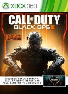 Call of duty black ops 3 for xbox 360 includes black ops 1 for xbox 360 £15.99 @ Xbox.com
