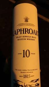 Laphroaig Islay Single Malt Whisky 70Clfor £17.59 @ Tesco In-store