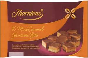 Thornton's Caramel Shortcake (10 Pack) Half Price was £1.40 now 70p @ Tesco