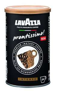 Lavazza Prontissimo Premium Instant Intenso Coffee Tin 95 g (Pack of 6) £12.24 with voucher @ Amazon