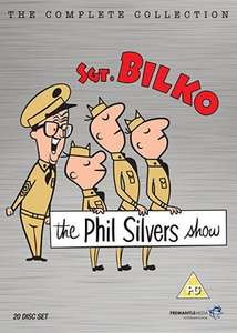 Complete Sgt Bilko - 20 discs! - at Amazon £26.99