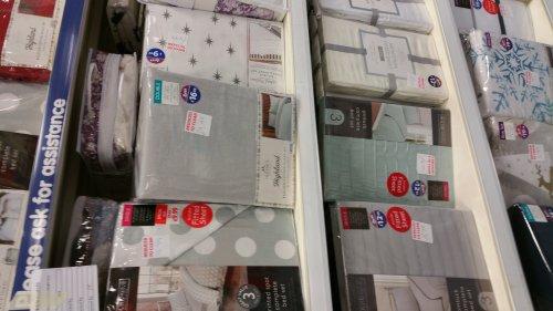 COMPLETE BEDDING SETS - £3.99 instore @ B&M