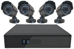 DEFENDER SECURITY 8 Channel DVR CCTV System, 4 Bullet Cameras, £179.99 @ CPC
