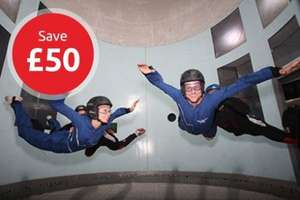 Indoor Sky Diving for 2 from Nectar £44.10