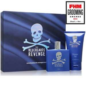 The Bluebeards Revenge Eau-de-Toilette Gift Set - £10.49 Delivered @ The Shaving Shack