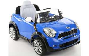 Mini Cooper Paceman 6v Kids Electric Car Was £259 now £75 @ Halfords