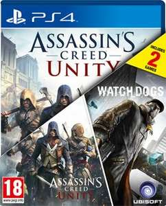 Assassin's Creed: Unity & WatchDogs Double Pack (PS4 & Xbox One) £9.99 delivered @ GAME