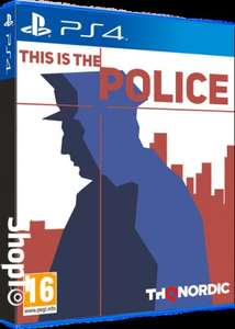 This is the Police (PS4/Xbox One) £14.86 Delivered (Preorder) @ Shopto