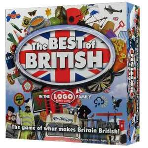 Best of British £8.54 & The Best of TV and Movies £8.99 board games delivered @ Amazon Prime exclusive