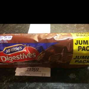 Jumbo Pack McVitie's Milk Chocolate Digestives 57p @ Tesco instore