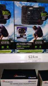 action pro 1080p sports camera with lots of extras for £24.99 @ home bargains