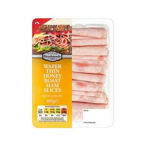 Wafer Thin Cooked Ham & Honey Roast Ham 400g just 69p at Lidl