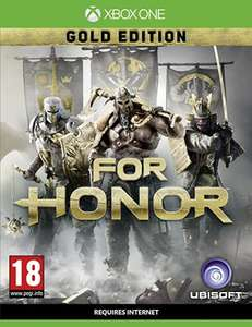 For Honor Gold Edition inc. Season Pass Xbox One Amazon £69.99 Free Delivery