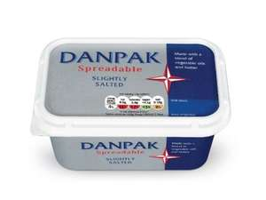 Lidl Danpak Spreadable Butter 500g 79p this weekend usually £1.59