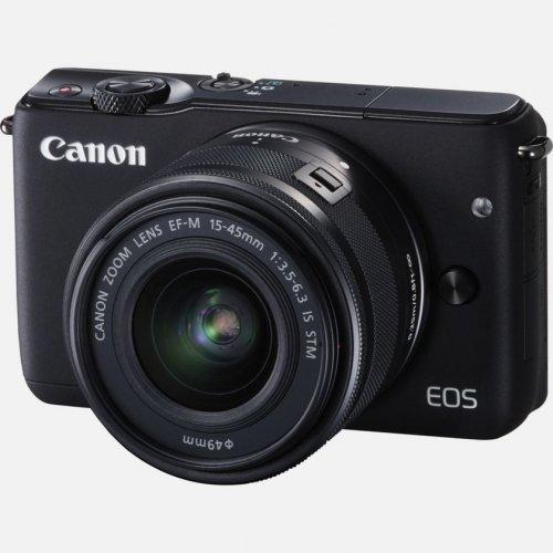 £271.99 - Canon EOS M10 Black + 15-45mm IS STM Lens @ Canon