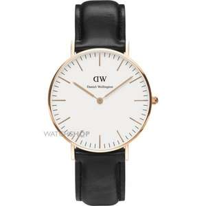 Various Daniel Wellington Watches - Lowest Price! Amazon & Watch Shop