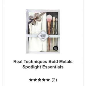 Real Techniques Bold Metals Brush Set Essentials £20 @ Boots