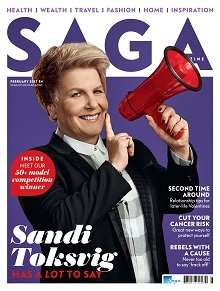 free copy of saga magazine - freephone request only