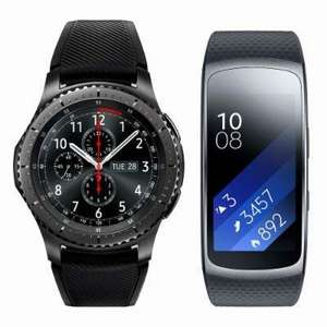 Samsung Gear S3 Frontier & Gear Fit 2 for £349.99 from Samsung Online Shop