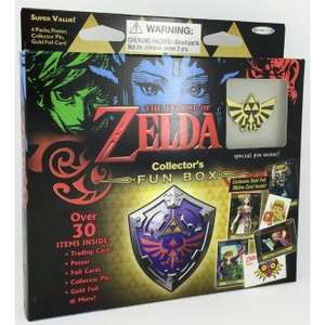 The Legend of Zelda: Trading Card Collector's Fun Box @ Chaoscards.co.uk - £7.95 (Including postage)