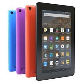 """Amazon Fire 7 tablet, Fire OS, 7"""", WIFI, 8GB. £34 @ Tesco + 1 year warranty"""
