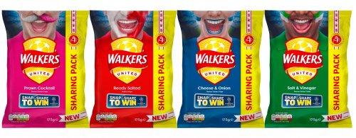 Walkers Sharing packs 175g £1 @ One Stop